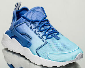NIKE ULTRA RUN HUARACHE BR Sz 6 Breathe Breeze Blue White Running 833292 401
