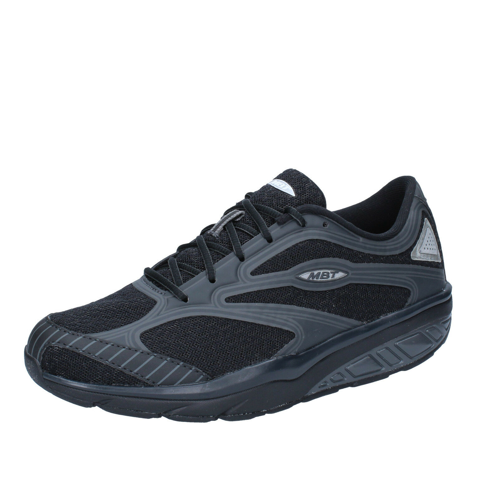 Womens shoes MBT 4 (EU 37) sneakers black textile textile textile AB939-37 ef85be