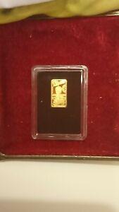 HARRY POTTER - 5 Dollars aus 999/1000   Echt Gold 24 k in Kapsel und Zertifikat