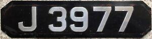 GENUINE-Jersey-UK-Small-Aluminium-Maserati-Number-License-Licence-Plate-J-3977