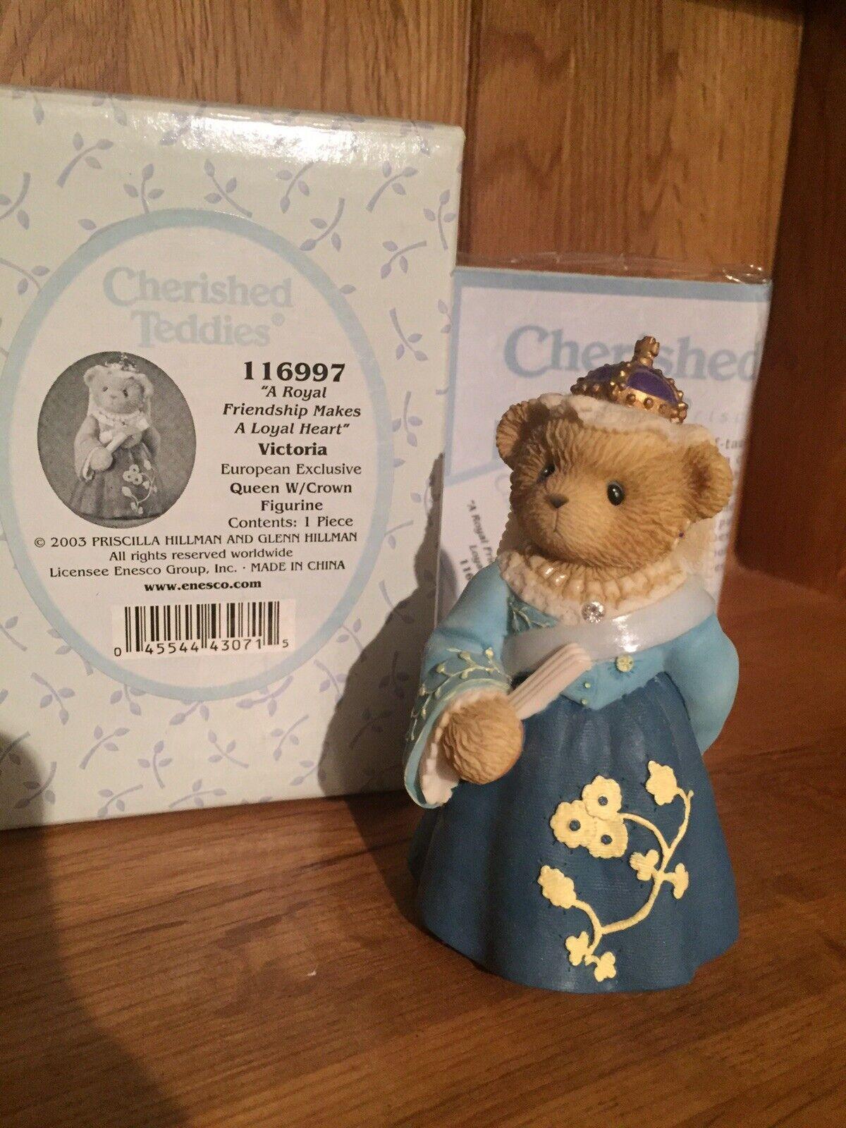 Cherished Teddies Queen Victoria European Exclusive