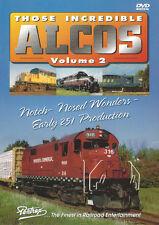 Those Incredible Alcos Vol 2 DVD Video NEW Pentrex