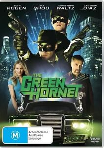 The-Green-Hornet-DVD-2011-Seth-Rogen-R4-terrific-Condition