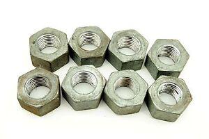 8-Hex-Nuts-1-1-4-034-7-Coarse-Thread-Galvanized-Finish-7-Pitch