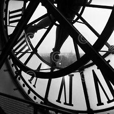PARIS FRANCE ART PRINT - Orsay Clock by Tom Artin 12x12 Photo Poster
