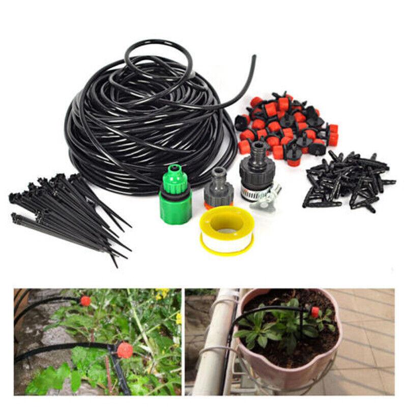 25M//15M Bewässerung Sets Gartenschlauch Glashaus Selbst Pflanze System DIY
