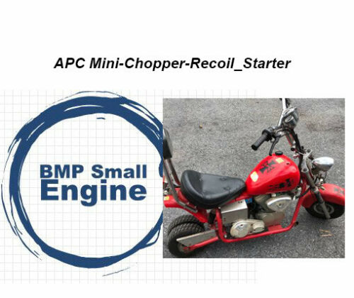 Other Recoil Pull Starter For APC Mini Chopper Bike Automotive ...
