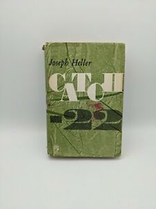 CATCH 22 By Joseph Heller: UK First Edition 1962 First Impression, Jonathan Cape