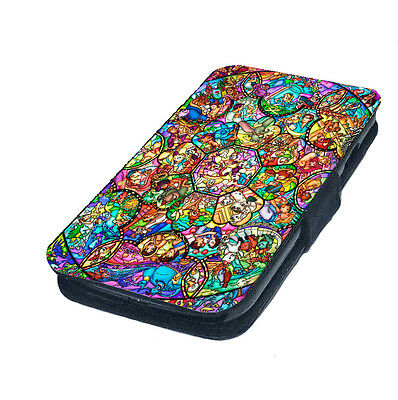 Life Moves Pretty Fast Faux Leather Flip Phone Cover Case Disney Inspired Style