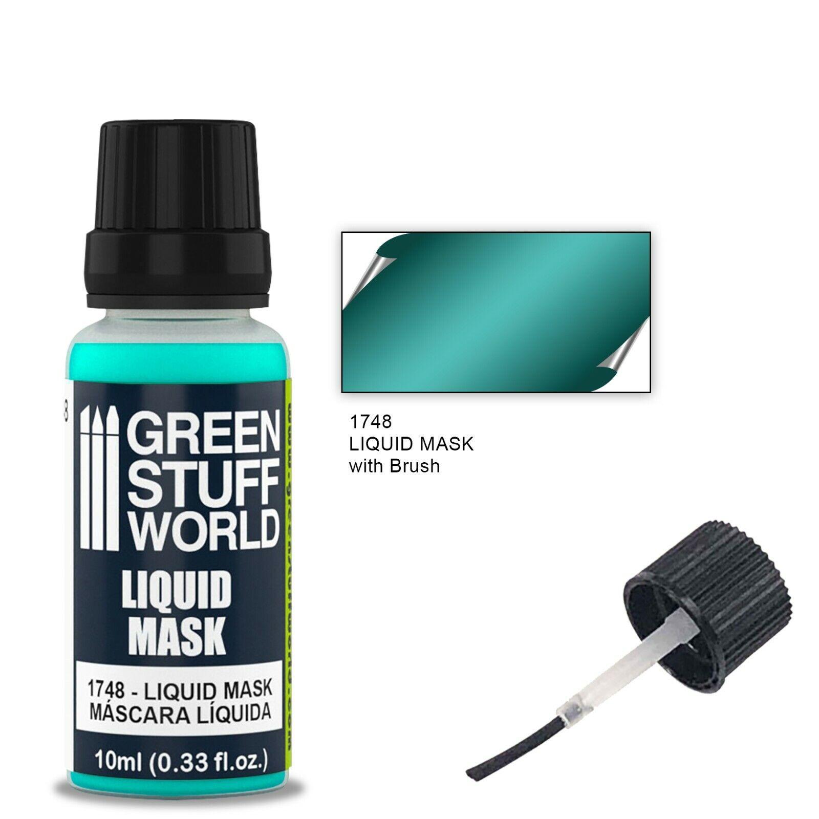 Mascara liquida 10ml con pincel - Hobby Liquid mask - Enmascarar modelismo