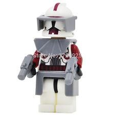 Commander Fox Clone Trooper Minifigures Building Blocks Toys Lego