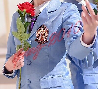 Anime Ouran High School Host Club Costume Cosplay Halloween Jacket Coat New