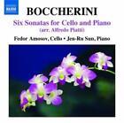 Cellosonaten (Arr.A.Piatti) von Jen-Ru Sun,Fedor Amosov (2010)