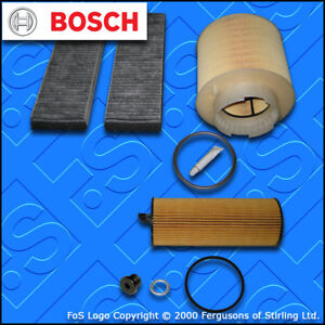 SERVICE-KIT-for-AUDI-A6-C6-2-7-TDI-BOSCH-OIL-AIR-CABIN-FILTERS-2004-2008