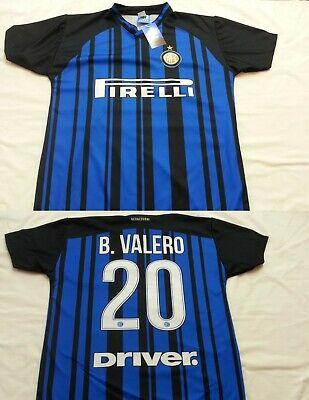 MAGLIA INTER FC TAGLIA 10 ANNI BORJA VALERO MAGLIETTA BAMBINO REGALO NATALE B. 9 | eBay