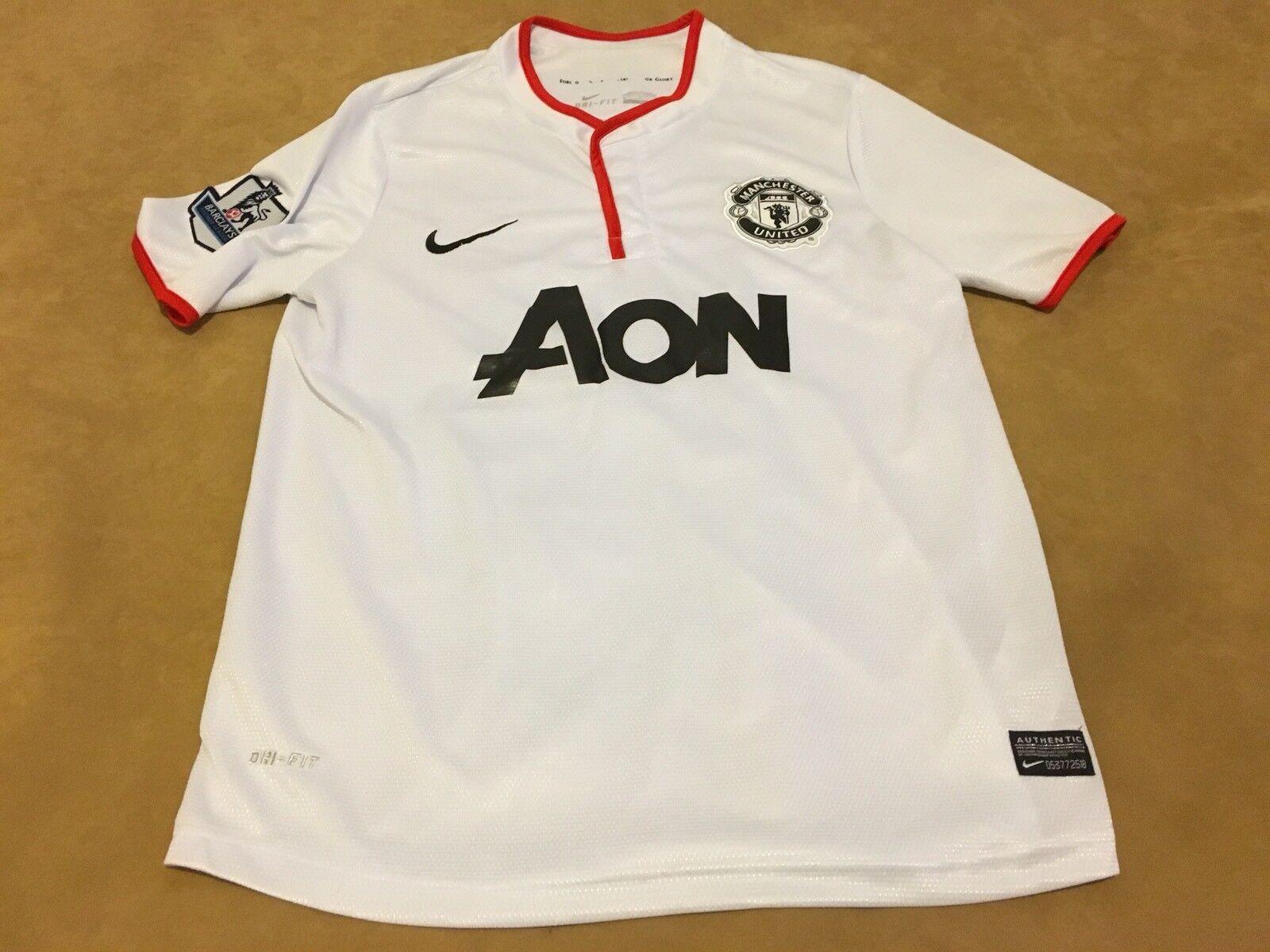 Wayne Rooney  10 Manchester United Soccer Jersey Sz Small Men's Dri Fit