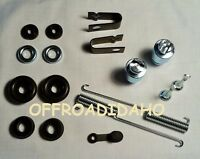 Front Brake Shoe Wheel Cylinder Rebuild Honda Trx400fw Foreman Trx450es/s 98-01