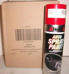 Details about NISSAN CARDINAL RED 41 - HOLTS SPRAY PAINT