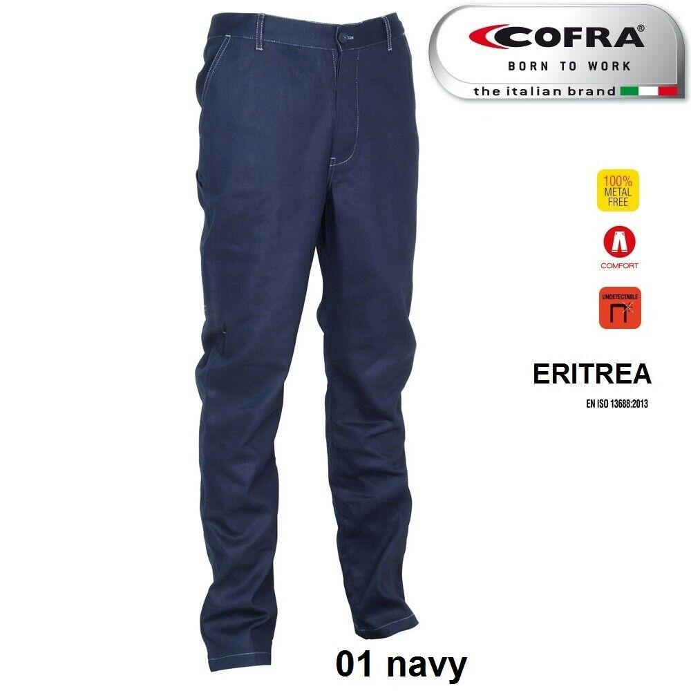 Immagine 4 - Pantaloni da lavoro COFRA modello ERITREA 100% cotone 270 g/m² industria logist