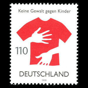 Germany-1998-No-Voilence-Against-Children-Sc-2017-MNH