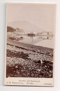 Vintage-CDV-Inveraray-amp-Duniquaich-Scotland-G-W-Wilson-Ph-Aberdeen
