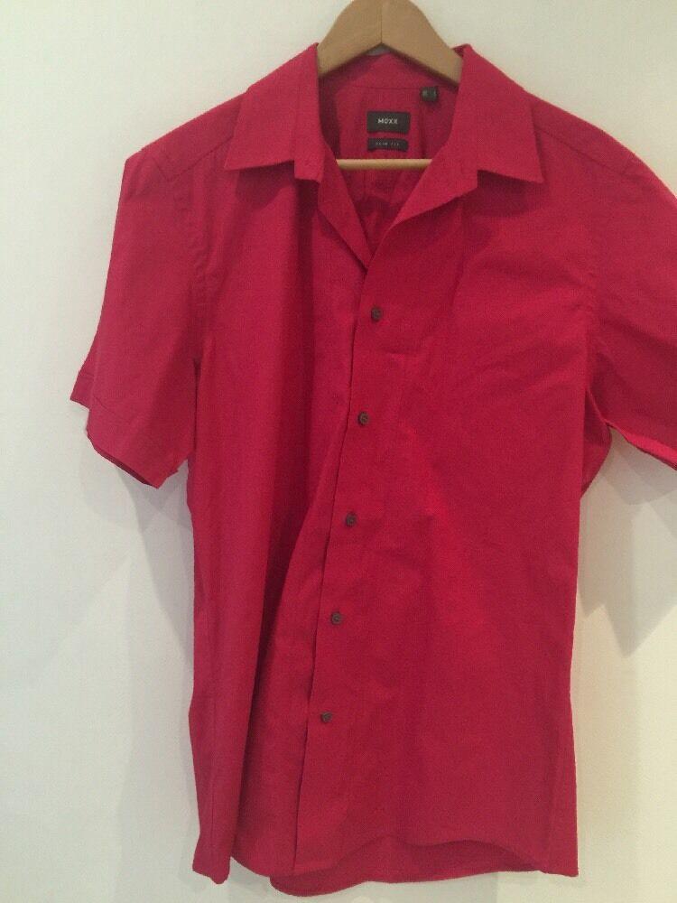 Mexx Men's Pink Shirt UK Large