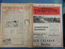 WWI WAR GUERRE 14/18 : revue THE GRAPHIC 1916 Nr 2429 (adv.KENILWORTH CIGARETTES