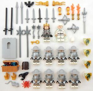 10-NEW-LEGO-CASTLE-KNIGHT-MINIFIG-LOT-Kingdoms-figures-minifigures-dragon-got