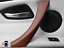 thumbnail 1 - For BMW E90 E91 2004-2012 Door Handle Left Pull Trim Cover Brown 100% Leather UK