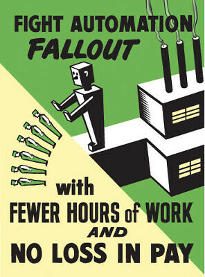FIGHT AUTOMATION FALLOUT  POSTER.