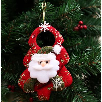 1Pcs Christmas Door Hanging Christmas Tree Home Decor Ornaments Xmas Gift