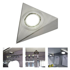 3 5w Led Mains Kitchen Under Cabinet Cupboard Triangle Light Kit