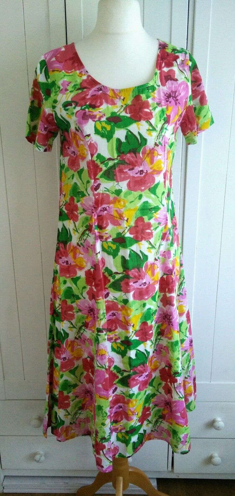 Casamia Exclusive Pink Floral Dress 12