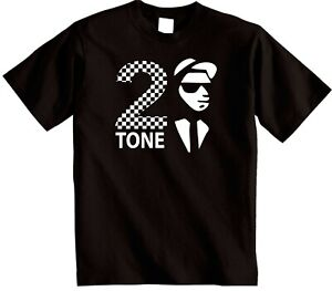 The-Specials-2Tone-T-shirt-Classic-Rude-Boy-Two-Tone-Ska-2-Music-Records-tee