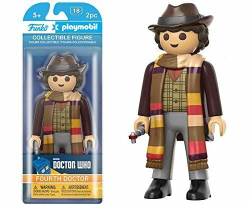 4th Doctor Playmobil Doctor Who Figures