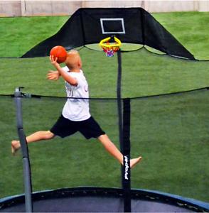 Jump N Jam Basketball Hoop Rim /& Accessories Trampoline Attachment 10 Inch Kids