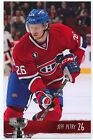 NEW 2014-15 JEFF PETRY MONTREAL CANADIENS PLAYOFFS TEAM ISSUE POST CARD RARE