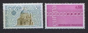 FRANCIA-FRANCE-1971-MNH-SC-1303-1304-CEPT