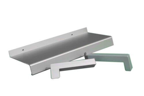 Aluminium rebord de fenêtre argent ev1 280 mm déchargés extérieur rebord de fenêtre extérieur