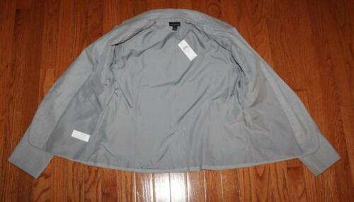 NWT Womens Ann Taylor Machine Washable 1-Button Notch Collar Blazer Jacket *E3