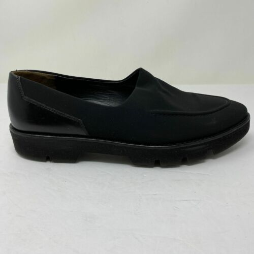 Paul Green Womens Size 9 US Slip On Black Loafer F