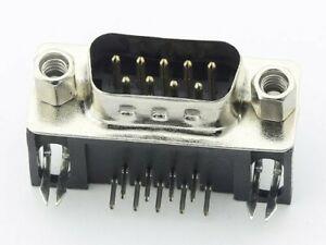 Connecteurs-DB9-90-RS-232-male-a-souder-CI-connecteur-9-Pin-D-sub-RS-232-France