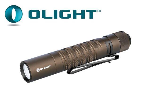 800 Lumens LED Flashlight Desert Tan NO Battery New Olight M1T Raider Plus