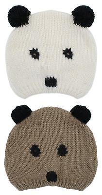 Iniziativa Rjm Kids E Pompon Bear A Maglia Cappello Beanie-mostra Il Titolo Originale
