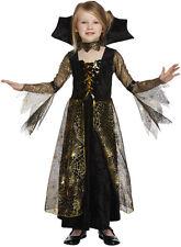 SPIDERELLA Bruja Edad 7 8 9 años Niño Niña Disfraz Truco Trato Disfraz Halloween