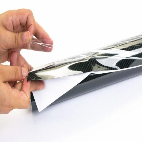 5D BLACK CARBON FIBER Vinyl Wrap Film Pro Grade w// AIR RELEASE