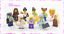 10-NEW-LEGO-FEMALE-MINIFIGURES-W-ACCESSORIES-NURSE-CHEF-BARISTA-COP-CITY-TOWN thumbnail 2