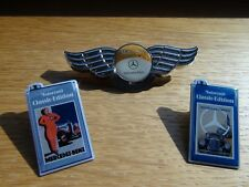 Mercedes Benz Classic Öl Pin Nadel Badge Emblem Vintage W107 W111 W114 W116