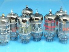 GE AND VARIOUS 12AU7 A ECC82 VACUUM TUBE CLOSE BALANCE SINGLE TONE MONSTER Y00