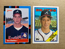1988 Donruss Tom Glavine Atlanta Braves #644 Baseball Card